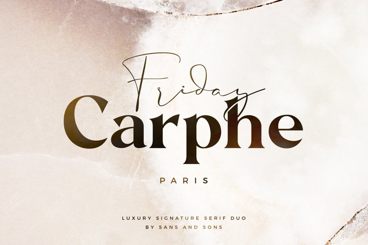 Carphe - Modern Luxury Duo example image 1