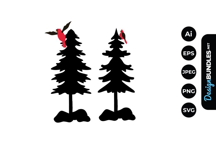 Trees with Cardinals example image 1