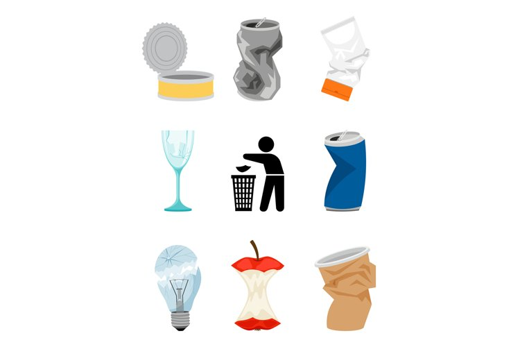 Garbage and waste elements example image 1