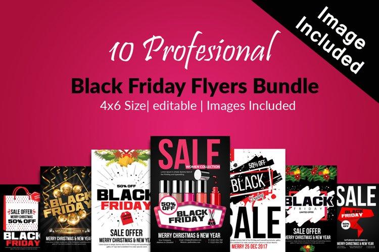 10 Black Friday Flyers Bundle example image 1
