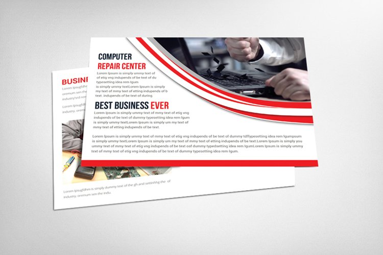 Corporate and Business Post Card example image 1