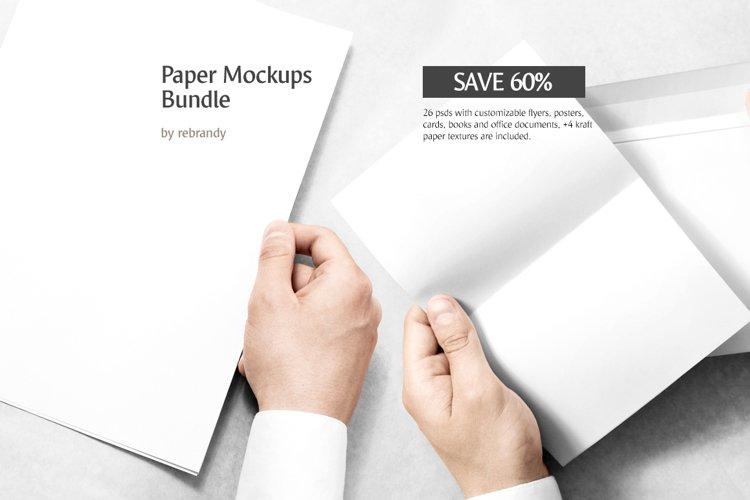 Paper Mockups Bundle