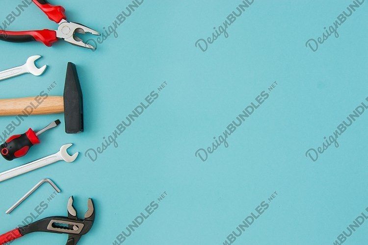 Tools. Father's day concept. example image 1