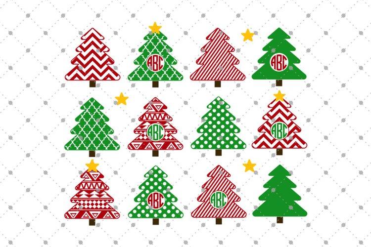 Christmas Tree SVG Cut files