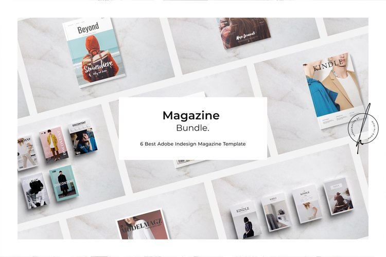 6 BEST Magazine Template Bundle