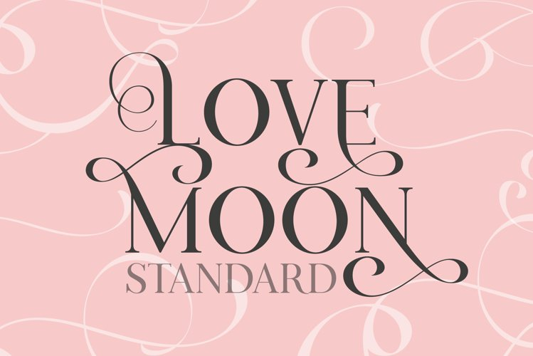 Love Moon Standard example image 1