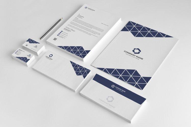 Minimal Corporate Branding Identity template example image 1