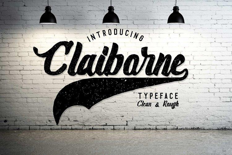Claiborne Typeface example image 1