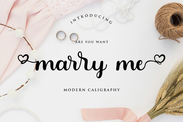 Marry Me example image 1