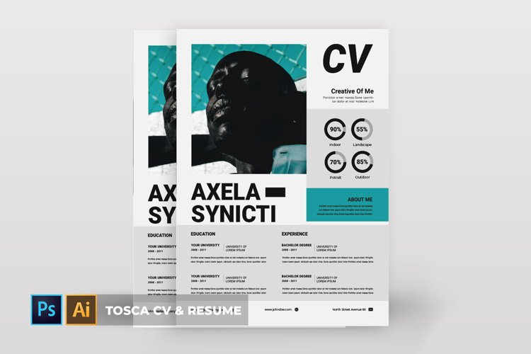 Tosca | CV & Resume example image 1