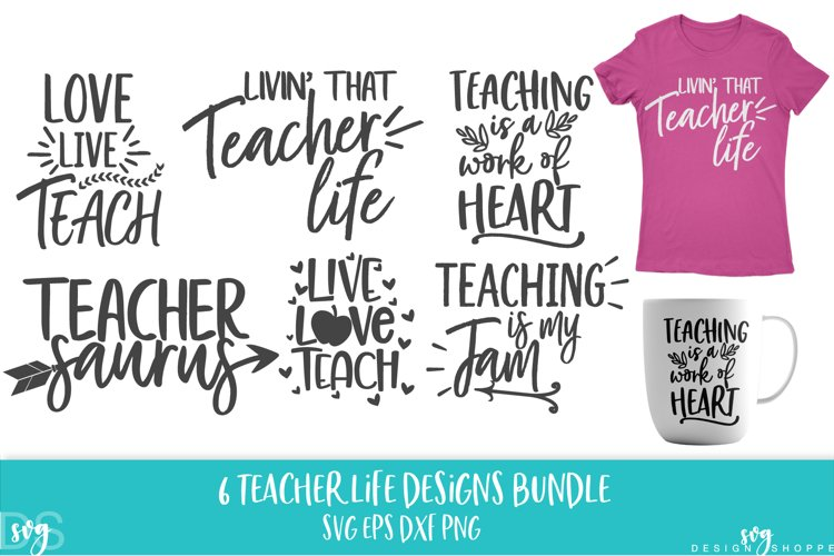 School, Teacher, SVG, PNG, DXF, EPS example image 1