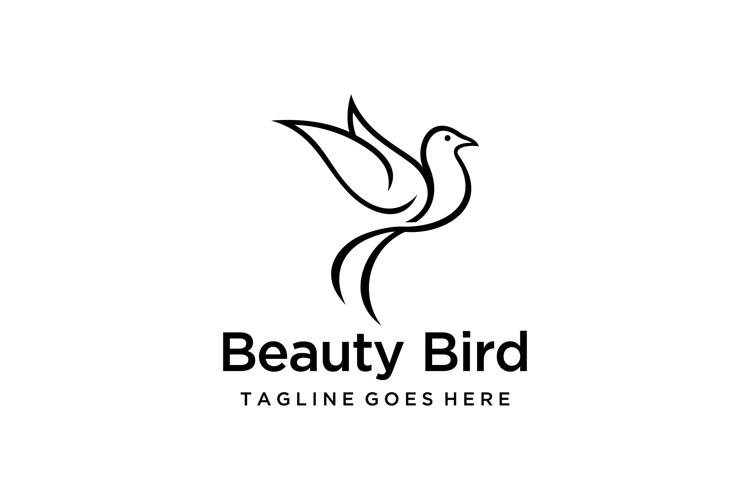 fly bird logo example image 1