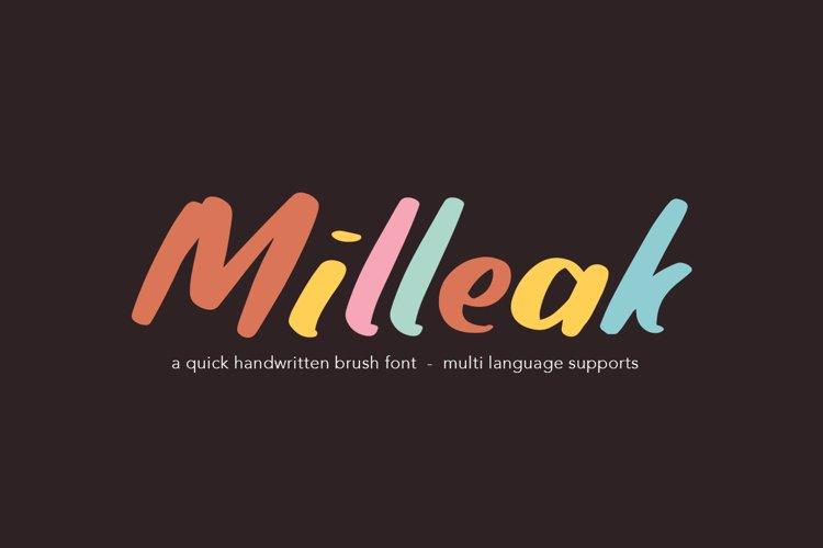 Milleak example image 1
