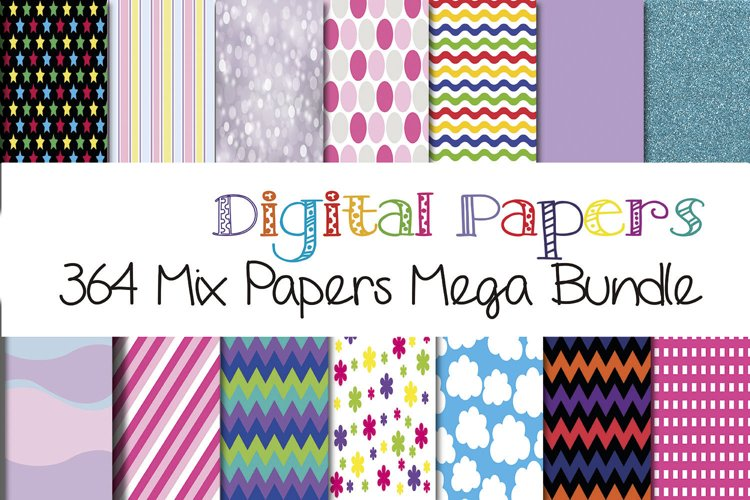 364 Digital Patterns