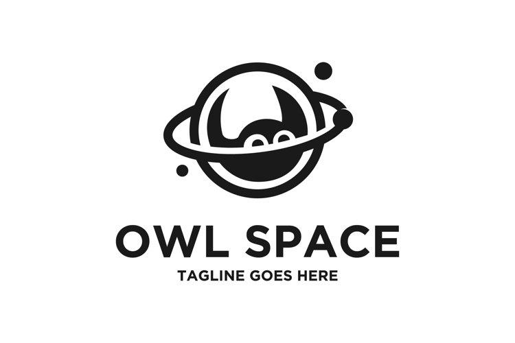 Owl Space Vector