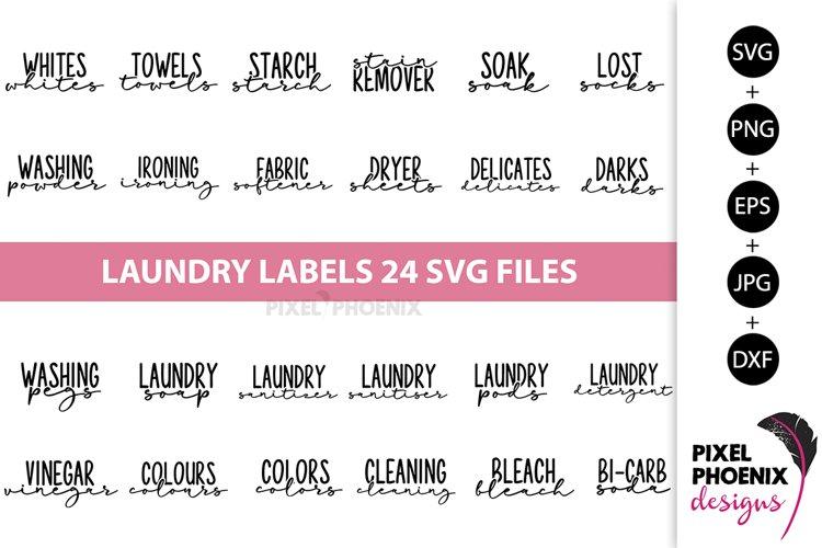 Laundry Labels SVG, Bottle Labels, Jar Labels