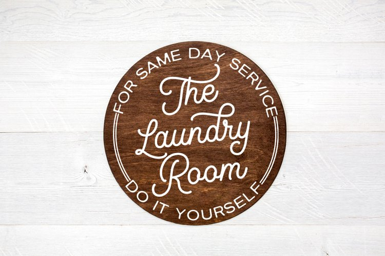 Laundry Room Decor SVG - Laundry Today Or Naked Tomorrow example