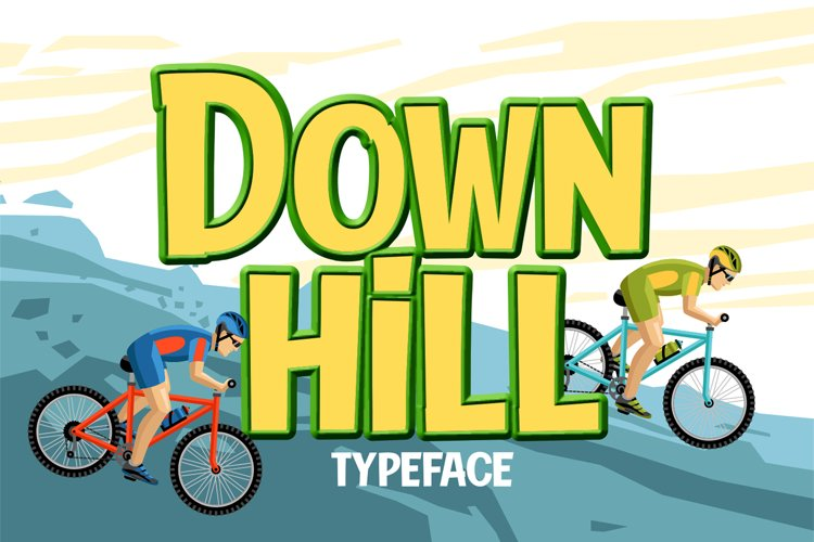 Down Hill example image 1