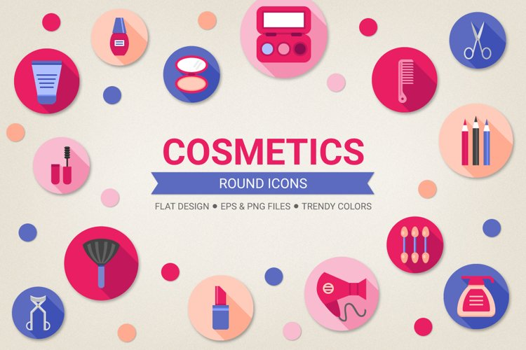 Round Cosmetic Icons