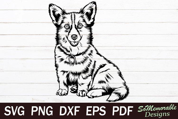 Corgi SVG cut file, Corgi svg design