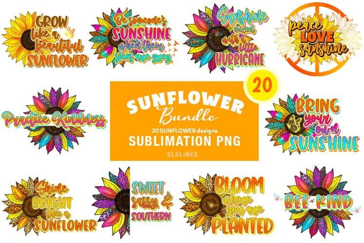 Sunflower & Sunshine Sublimation Bundle