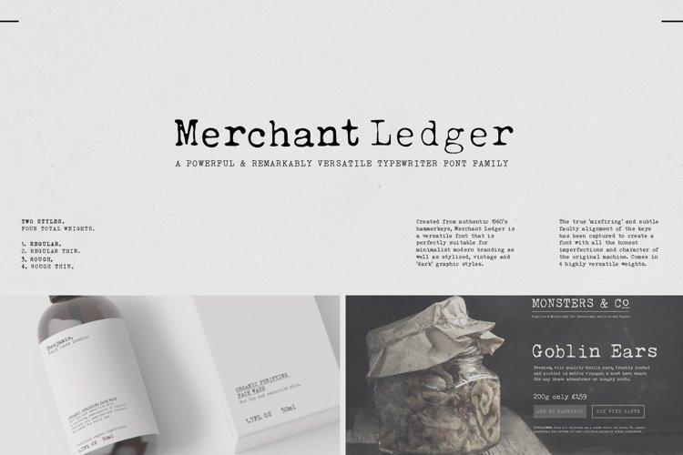 Merchant Ledger
