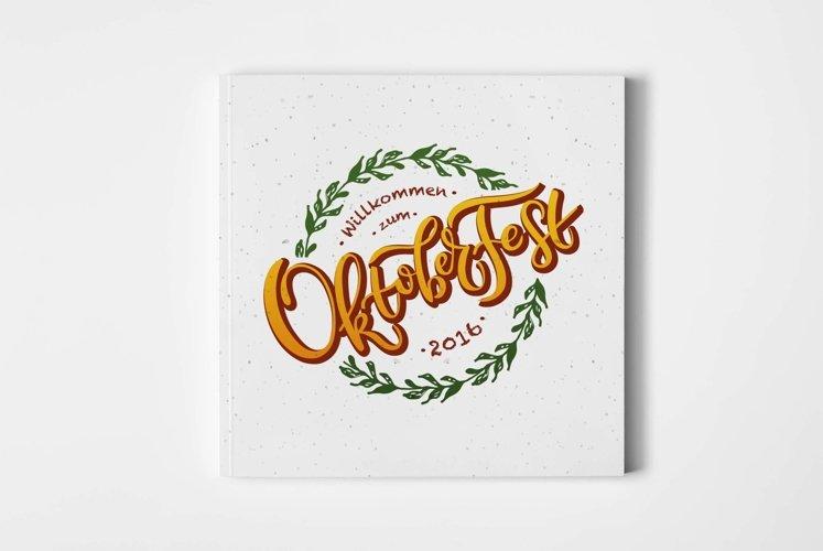 Oktoberfest Lettering Typography