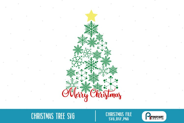 christmas tree svg,christmas tree svg file,christmas svg example image 1