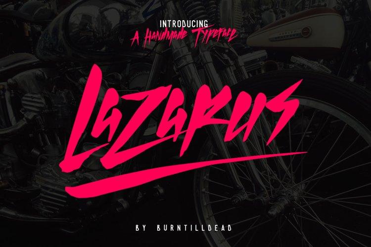 Lazarus example image 1