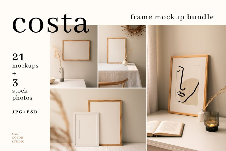 Costa - Frame Mockup Bundle example image 1