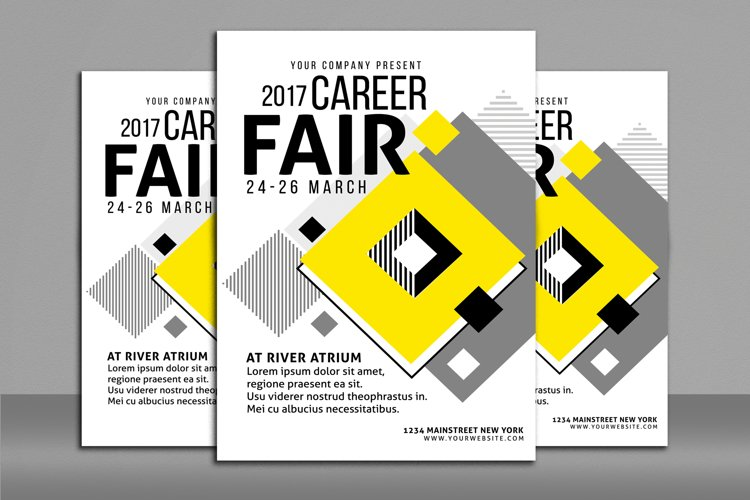 Career Fair Flyer Poster example image 1