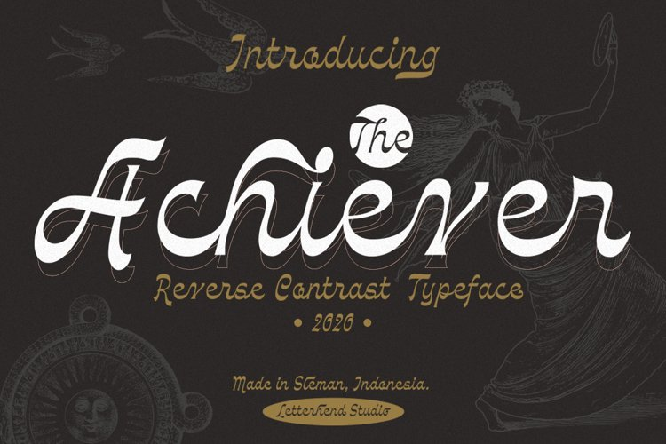 The Achiever - Reverse Contrast example image 1