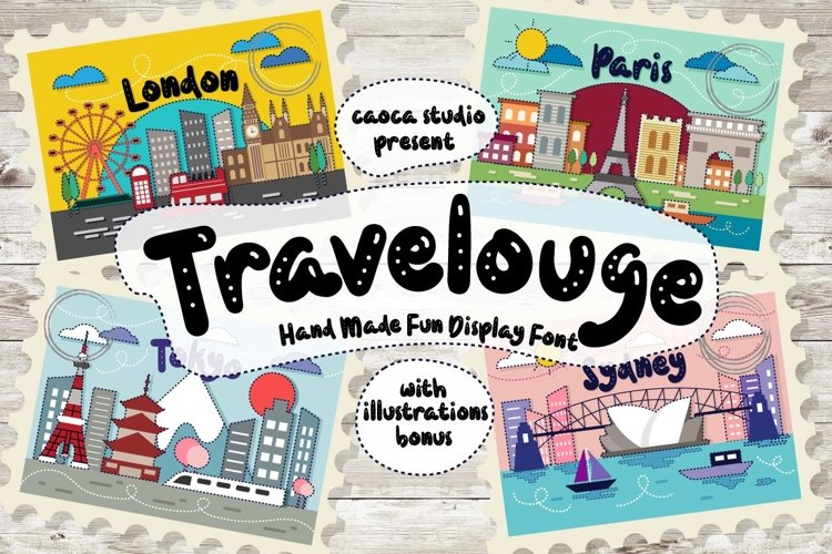 Web Font Travelouge example image 1