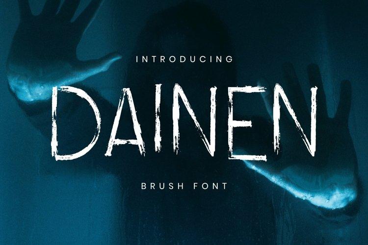 Web Font Dainen Font example image 1