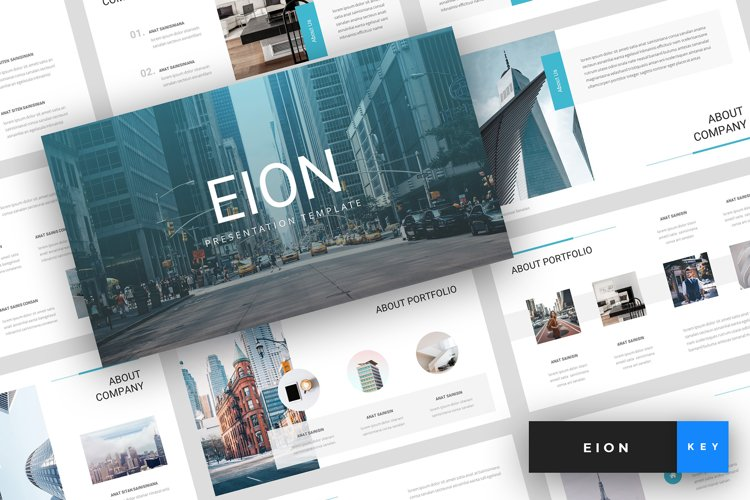 Eion - Corporate Keynote Template example image 1