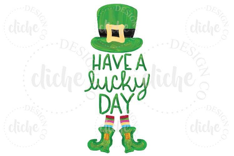 St Patricks Day Sublimation Design