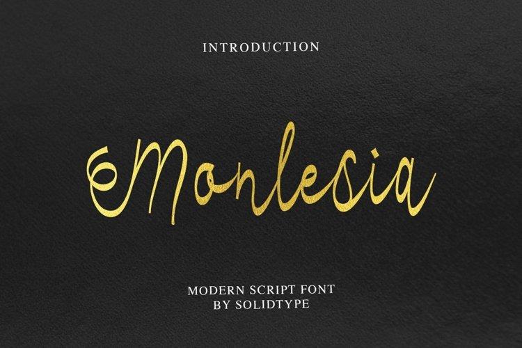 Monlesia Script example image 1
