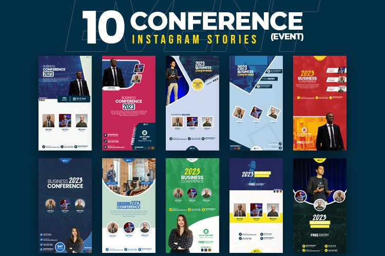 Event & Conference 10 Instagram Stories example image 1