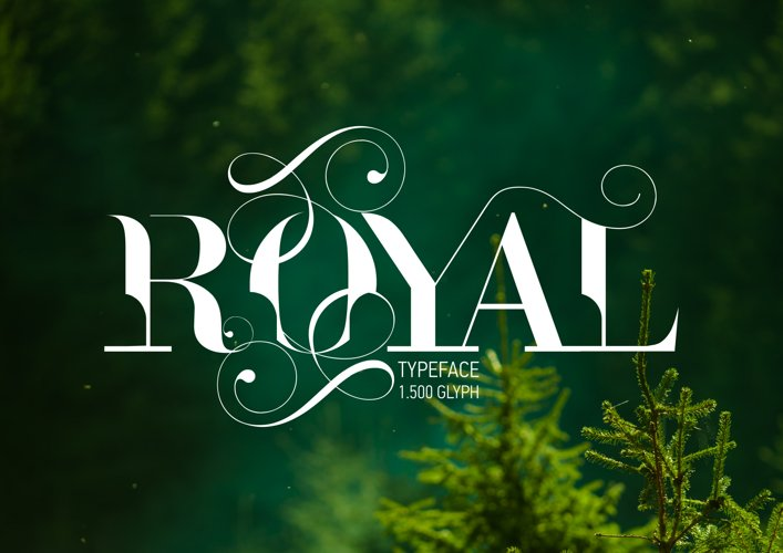 ROYAL TYPEFACE FONT (50% OFF) example image 1