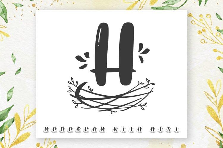 Nest Monogram example image 1