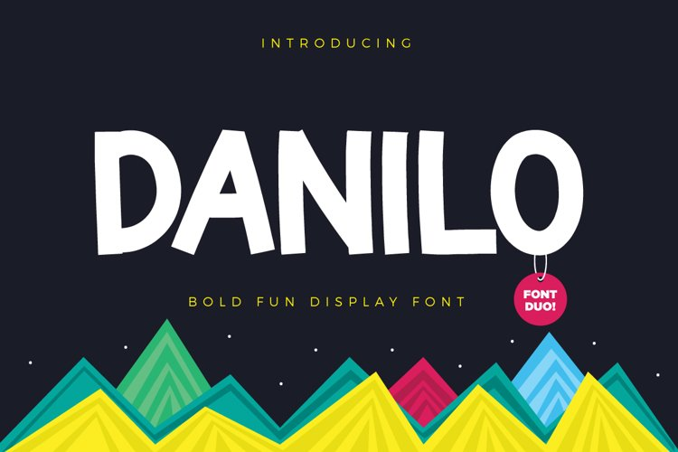 Comica  Font Duo example image 1
