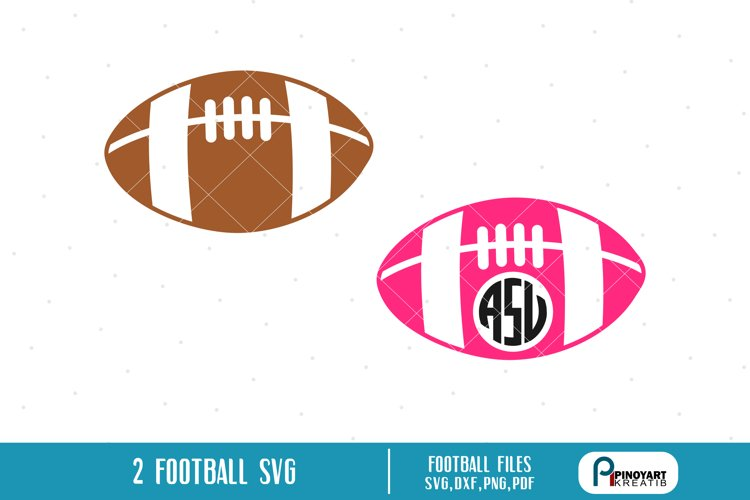 football svg,football monogram svg,football svg file example image 1
