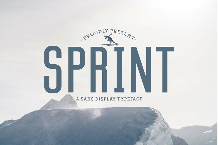 Web Font Sprint example image 1
