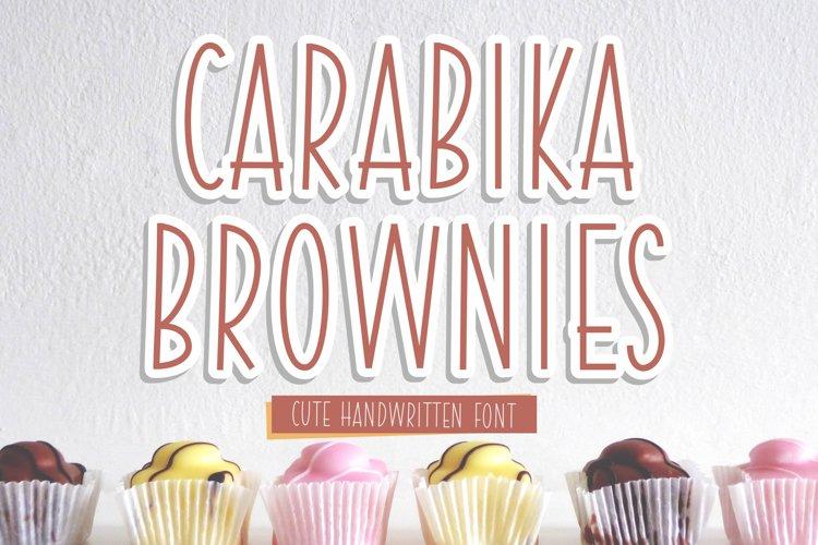Carabika Brownies example image 1