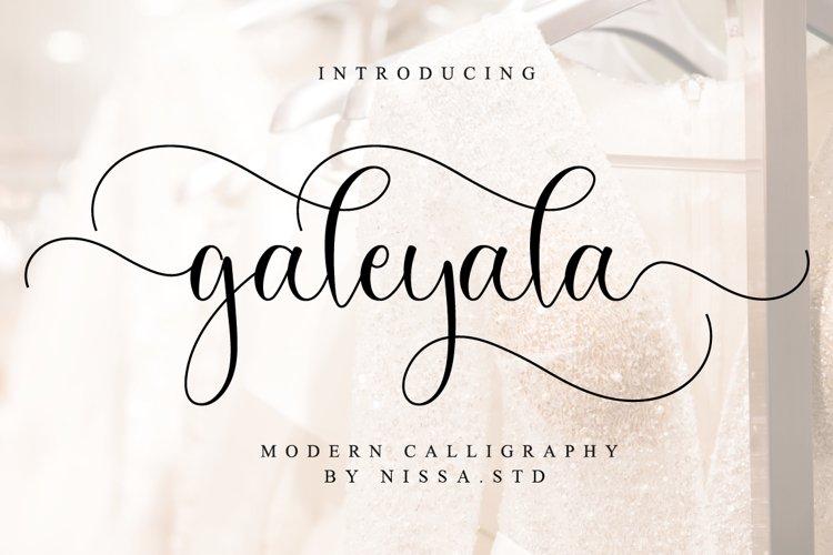Galeyala Script example image 1