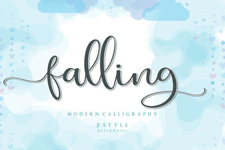 Falling example image 1