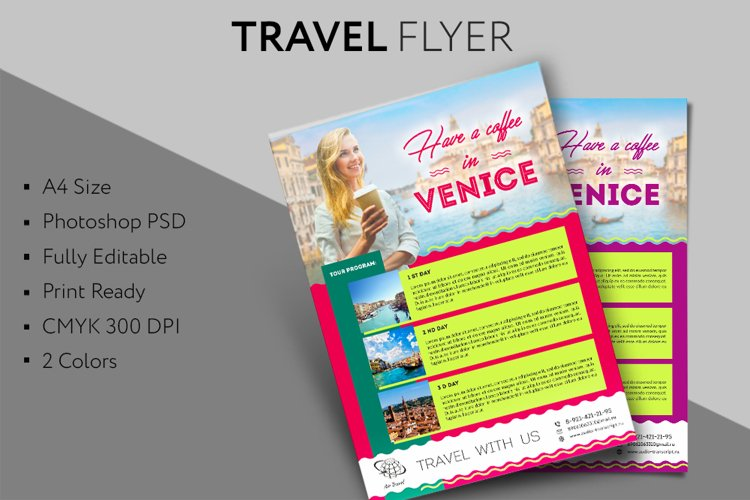 Travel Flyer example image 1