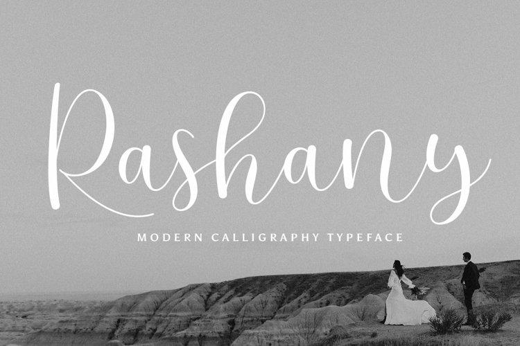 Rashany Modern Script Font example image 1
