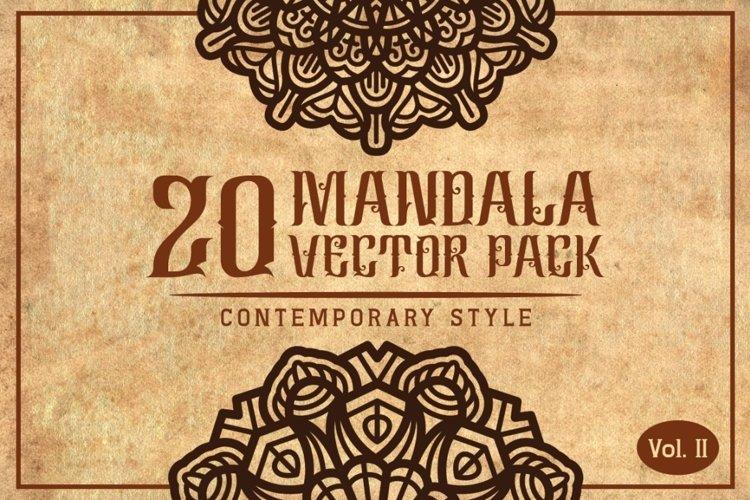 Mandala (Contemporary Style) Vol. II