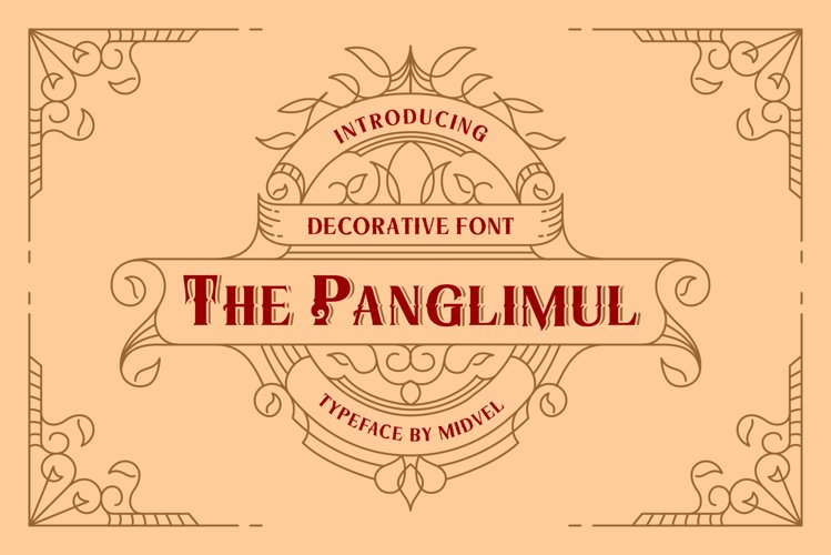 The Panglimul - Decorative Font example image 1